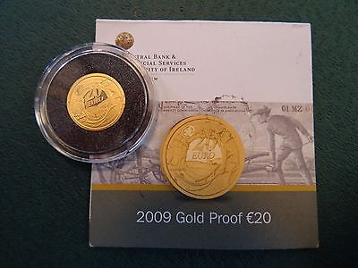 20 Euro Irland 2009 PP  Gold - Ploughman Banknote