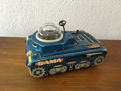 Gama 9940 Space Tank (Germany) Tin Toy