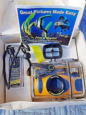 SeaLife Sport Diver Underwater 35mm Camera and housing . Checked and working.
