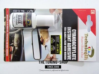 1x 8g Clear Instant Strong Adhesive Super Glue For Glass Rear View Mirror Metal