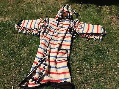 Earlys Of Witney Pure Wool Native American Style Costume