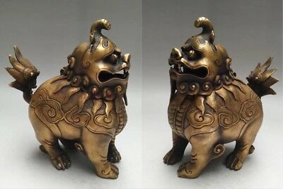 Chinese Japanese Style Bronze Incense Burner Traditional