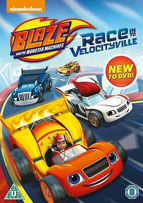 Blaze and the Monster Machines: Race Into Velocityville [DVD]