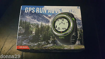 Outbound GPS Run Adventure Fitness Watch Activity Tracker Black Brand New&Boxed+
