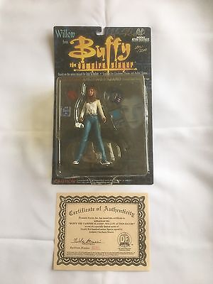 "Buffy The Vampire Slayer 6"" Willow Signed Dated 1999"
