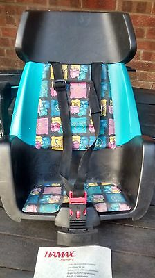 Hamax Discovery 103 child bike seat 9 months to 6 years (max 22 kilos)