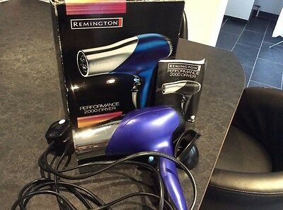 "Vintage ""remington"" Performance 2000 Hair Dryer Vgc"