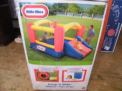 Little Tikes Jump n Slide BOUNCER, Regular Outdoor Kids Inflatable BOUNCER