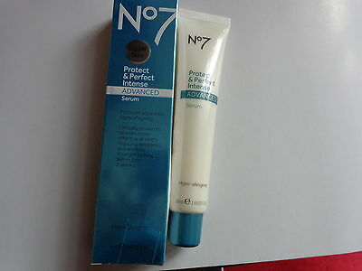 Boots No7 Protect & Perfect,advanced Intense, Large  Serum, 50Ml,free Uk Pp
