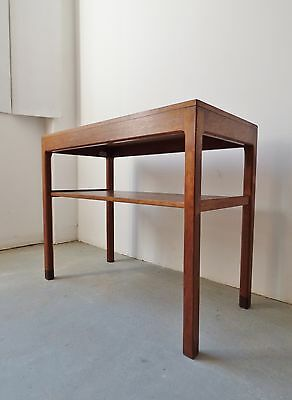 1960S Danish Teak Console Hall Side Table Vintage Mid-Century