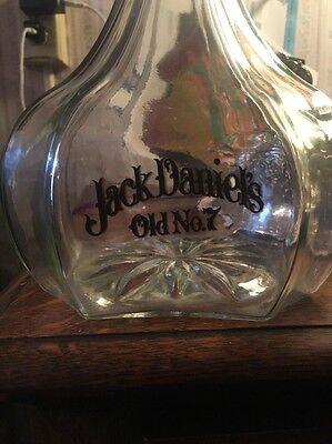 Jack Daniels Rare Riverboat Captain Decanter W/labels  Immaculate !