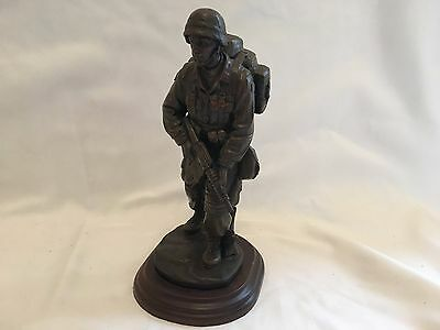 US Marine Corps Soldier Statue - Stands 25cm Approximately