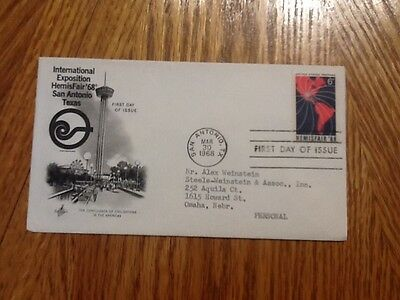 """United States """"First Day Cover"""" 1968"""