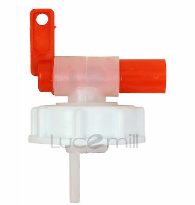 61mm Anti Glug Dispensing DRUM TAP for 20 & 25 LITRE Jerry Can Container Drums