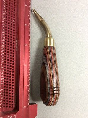 Bent Hook For Rug Hooking From Ault's Rug Hooking