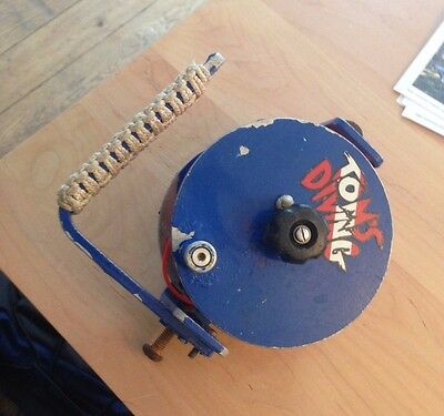 Aqua Explorers Primary wreck Reel with Line and stopper ready to go