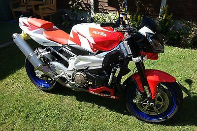 Aprilia Tuono 1000 Immaculate Condition Very low Miles 1 Former Keeper