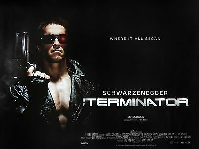 "The Terminator 1984 16"" x 12"" Reproduction Movie Poster Photograph 2"