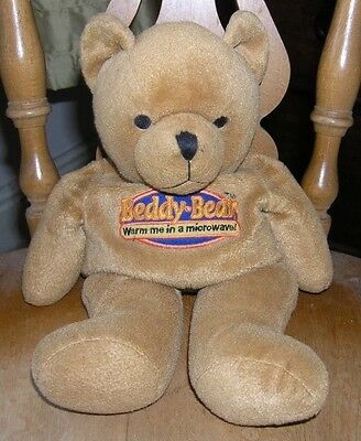 Honey Brown - Beddy Bear - Microwaveable - Treated Wheat Filled