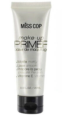 MAQUILLAGE TEINT : Make-Up PRIMER base de maquillage visage (matifie) - Miss Cop