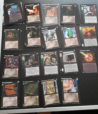 Vampire the Eternal Struggle cards - Equipment
