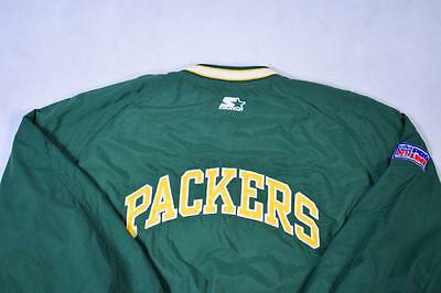 Large Vintage Green Bay Packers 90's Starter Jacket