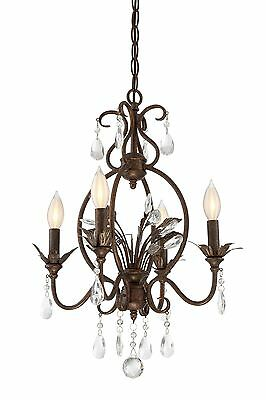 Embassy 3-Light Mini Chandelier Astoria Grand FREE SHIPPING (BRAND NEW)