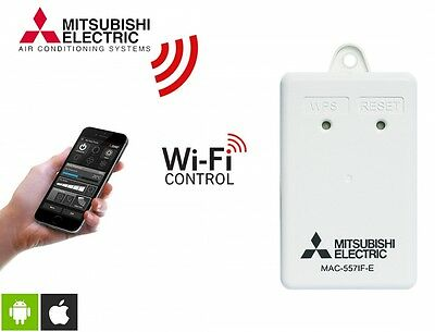 Mitsubishi Air Conditioning MAC-557iF Melcloud Home WiFi Controller Adapter