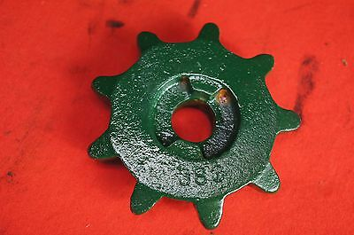 Odd Cole 383 Metal Corn & Cotton Planter 9 Tooth Chain Rate Distance Sprocket