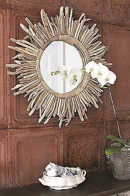 Driftwood Sunburst Mirror Beachcrest Home FREE SHIPPING (BRAND NEW)