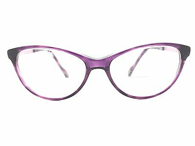 JOOP! Translucent Lilac Cats Eye Used Glasses Eyeglasses Eyeglass Frames