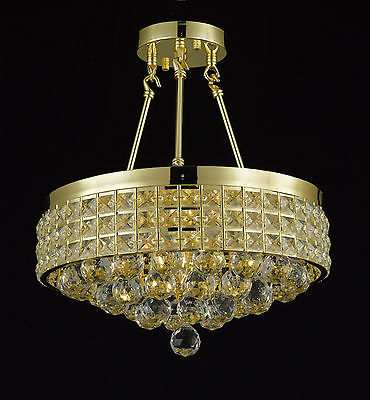 French Empire 4-Light Crystal Chandelier EverythingHome FREE SHIPPING