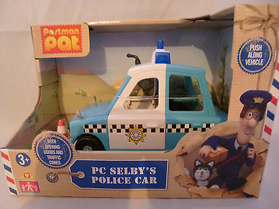 NEW - Postman Pat - PC Selby's Police Car Vehicle