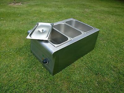 Burco Table Top Bain Marie CTBM01 Commercial Kitchen Restaurant Buffet Carvery 5