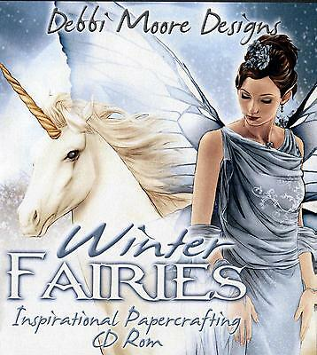 Debbi Moore Crafting - Winter Fairies Inspirational Papercrafting CD Rom