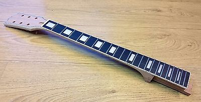 Guitar Neck for Gibson Les Paul Custom style Singlecut - Mahogany and Rosewood