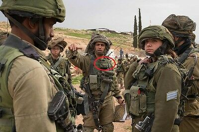 IDF ZAHAL israel army plate carrier molle utility bandade grenade pouch