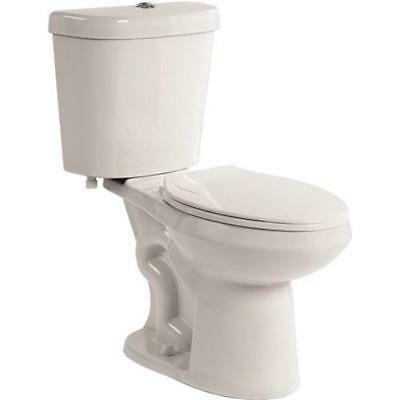 All-in-One Comfort Height Dual Flush Elongated One-Piece Toilet Premier Faucet