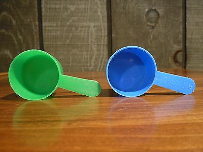 Chock Full 'O Nuts Scoops, Lot of 2: Blue and Green, Used, MeasureX