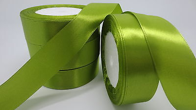 """NEW Gift Wrapping wedding festival Party 5yards 1""""25mm Craft Satin Ribbon T5WPF"""