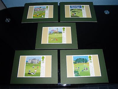 Famous Golf Hole Mounted Prints