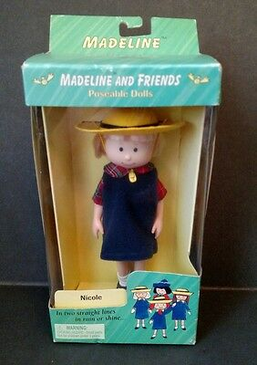 """Madeline And Friends 8"""" Doll Nicole Complete Uniform NEW in Box"""