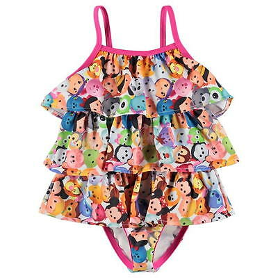 Disney Baby Girls Tsum Tsum Bathing Suit Swimming Costume..bnwt..all Sizes