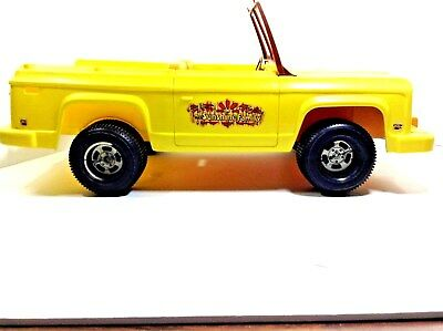 "Vtg=1973=Mattel's=""sunshine Family""-Car=Rare Find=18""-Wide X 6""-Tall=Plastic"