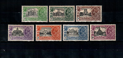 India 1935, Silver Jubilee, MH stamps