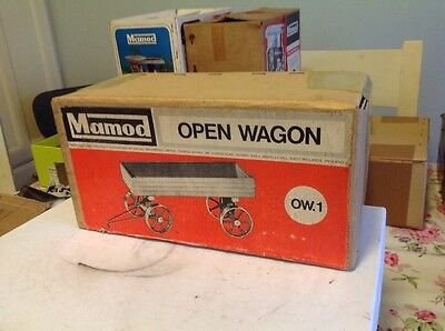 VINTAGE MAMOD MODEL OW.1 OPEN WAGON Very Rare New Old Stock Never Used
