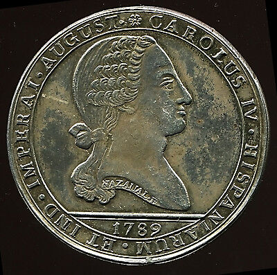 1789 - Santiago - Proclamation - Chile - Indians - Very Scarce