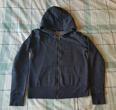 girls zip up hoodie 10-11 years