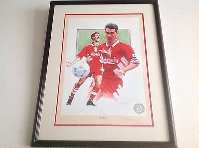 Hand Signed Limited Edition Print - Ian Rush- Liverpool
