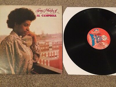 "Al Campbell ""The Loving Moods Of Al Campbell"" vinyl LP Ital 1978 UK"